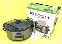 Crock-Pot SCCPVFC800-DS 8-Quart Slow Cooker - Black Stainles