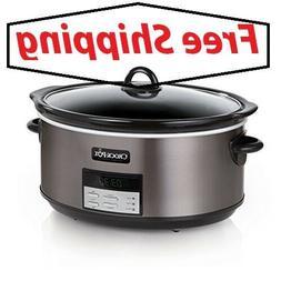 Crock-Pot SCCPVFC800-DS 8-Quart Slow Cooker, Programmable, B