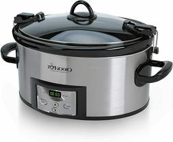 SCCPVL610-S-A 6-Quart Cook & Carry Programmable Slow Cooker