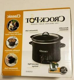 Crock-Pot SCR200-B Manual Slow Cooker, 2 Quart