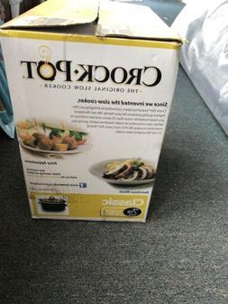 Crock-Pot SCV700-B2-WM1 7-Quart Manual Slow Cooker - Black