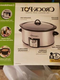 Crock pot slow cooker 4 Quart