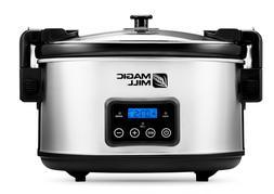 Crock Pot Slow Cooker 6 Quart Dishwasher Safe Oval Cookers P