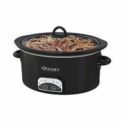 Crock-Pot Smart-Pot 4 Quart Digital Slow Cooker, Black
