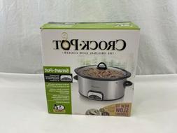 Crock-Pot Smart-Pot 4 Quart Programmable Digital Slow Cooker