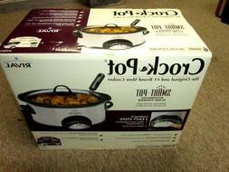 Rival Crock Pot Smart Pot 6qt Automatic Slow Cooker - NEW in