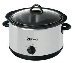 Crock-Pot The Original Slow Cooker, 5-Quart, Stainless Steel