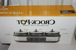 Crock-Pot Trio Cook and Serve Slow Cooker and Food Warmer St