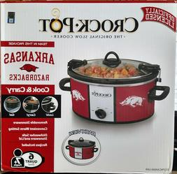 Crockpot SCCPNCAA600-UAR Cook and Carry Slow Cooker, 6 quart