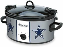 Dallas Cowboys Crock Pot, Cook & Carry Slow Cook, 6-Quart Ca