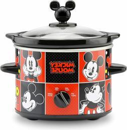 Disney DCM-200CN Mickey Mouse Slow Cooker 2-Quart Red/Black