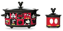 Disney DCM-502 Mickey Mouse Oval Slow Cooker with 20-Ounce D