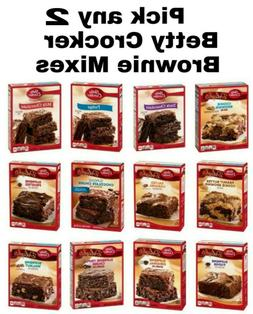 Betty Crocker Delights/Favorites Chocolate Brownie Mix 2 Pac