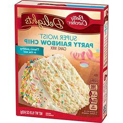 LOT OF 2 Betty Crocker Delights Super Moist Party Rainbow Ch