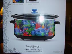 Disney Lilo and Stitch 7 QUART SLOW COOKER CROCK POT  NIB