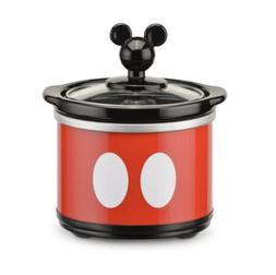 Disney Mickey Mouse .65 Quart Mini Crock Pot with Removable