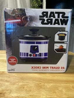 Disney Star Wars R2D2 Mini Crock Pot Cooker .65 Quart NIB
