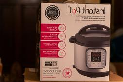 Instant Pot DUO60 V3 6Qt 7-in-1 Multi-Use Programmable Press