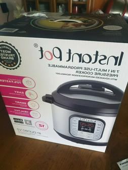 Instant Pot DUO8-V2 8 Qt 7-in-1 Multi-Use Programmable Press