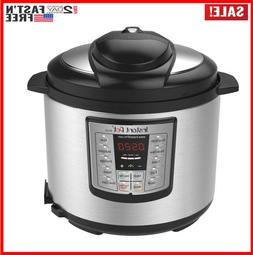 Electric Instant Pot Pressure Cooker 6 in 1 Programmable 6 Q