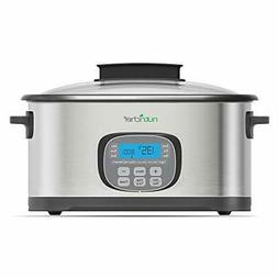 NutriChef 11 In 1 Cooking Functions CrockPot,Steamer, Sous V