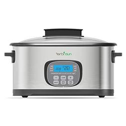 NutriChef Countertop Oven Multi-Cooker - Sous Vide Slow Cook