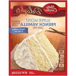 French Vanilla Betty Crocker Delights Cake Mix Super Moist N