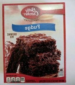 Betty Crocker Fudge Brownie 2 boxes Mix, 18.3 oz Each  Expir