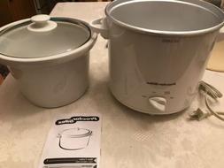 Hamilton Beach 3 Qt. Slow Cooker Crock Pot Removable Crock M