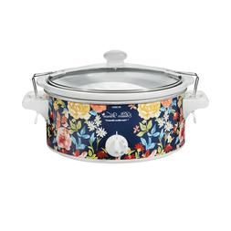 Hamilton Beach Pioneer Woman Crock Pot 6 Quart Portable Slow