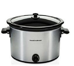 Hamilton Beach Slow Cooker Crock Pot 10 Quart Large Dishwash