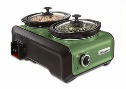 Crock-Pot Hook Up Connectable Entertaining System, Two 1-Qua