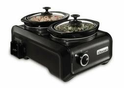 Crock-Pot 1-Qt. Hook Up Double Slow Cooker