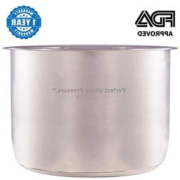 Stainless Steel Inner Cooking Pot for Instant Pot Multi-Use