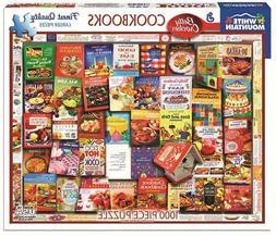 WHITE MOUNTAIN JIGSAW PUZZLE BETTY CROCKER COOKBOOKS 1000 PC