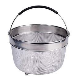 Karryoung KA08 Steamer Basket for Instant Pot, 8 Quart, Silv