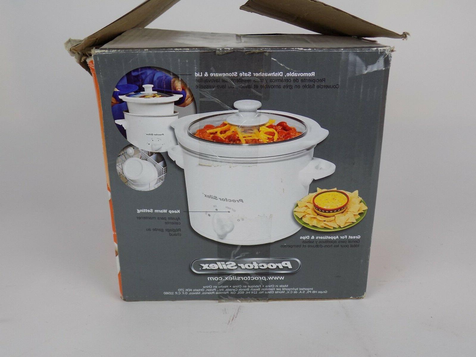 1.5 Quart Round Silex Crock Pot Cooker Steamer