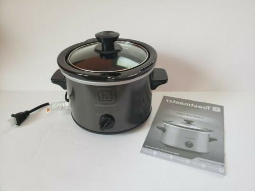 Toastmaster slow cooker/ gray EUC