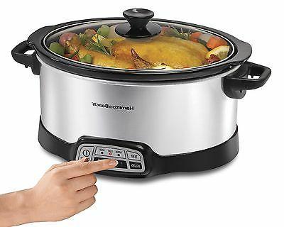 Hamilton Beach Slow Cooker Cooking Chef Crock Pot NEW