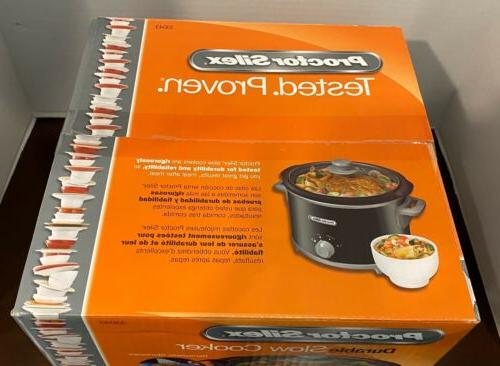 Proctor Silex Quart Slow Cooker Crock New 33043