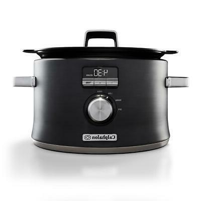 5 3 qt digital slow cooker programmable