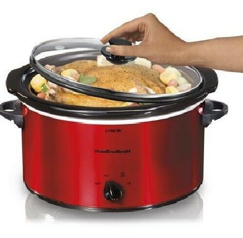 5 quart portable slow cooker