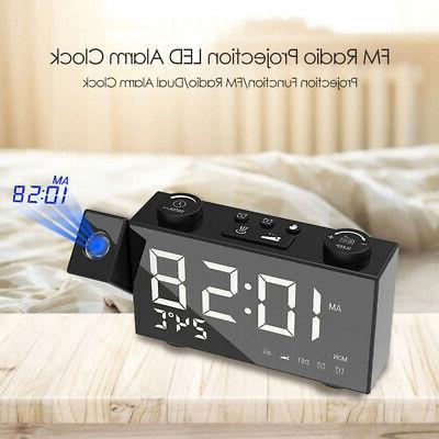 6 Inch Projection Radio Alarm 4 3 L8B8