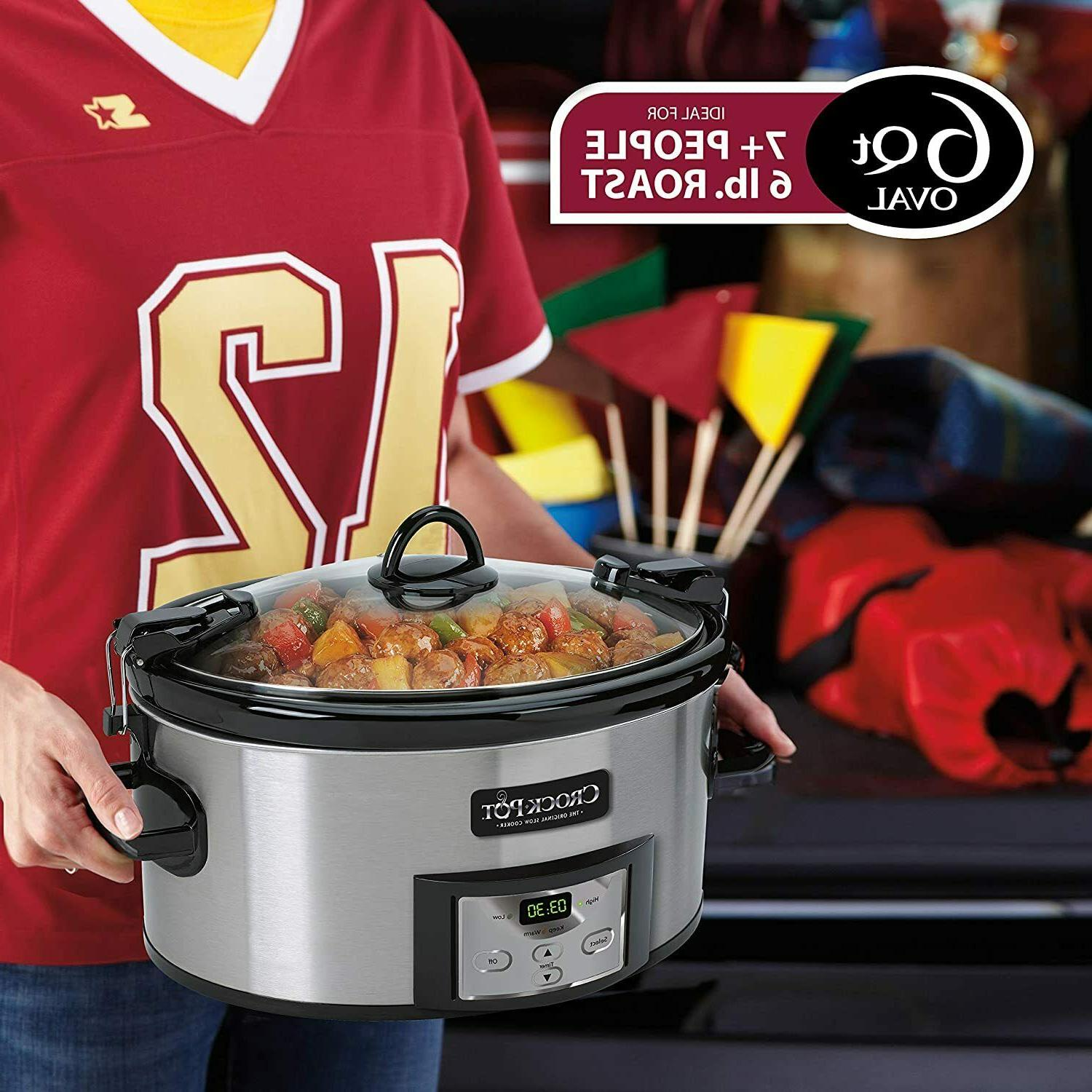 SCCPVL610-S-A Carry Cooker with Digital Timer