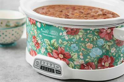 7-Quart Slow Crock-Pot The Vintage Floral
