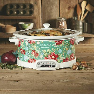 7-Quart Slow Crock-Pot The Pioneer Woman Vintage