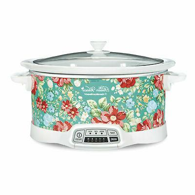 7 quart programmable slow cooker crock pot