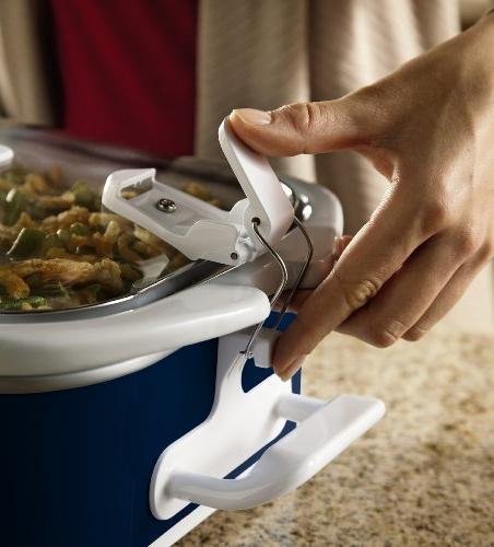 Crock-Pot SCCPCCM350-BL Manual Cooker, Navy