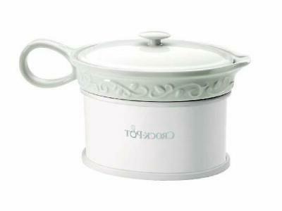 Crock-Pot SCCPVG000 18-Ounce Electric Gravy Warmer, White