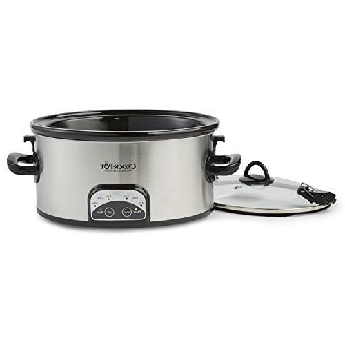 Crock-Pot 6-Quart Cook Slow Stainless